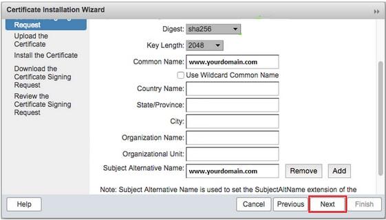 generate-csr-zimbra-mail-server