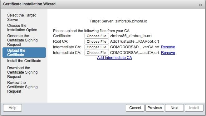 install-ssl-certificate-zimbra
