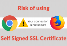 Risk-of-using-an-self-signed-certificate